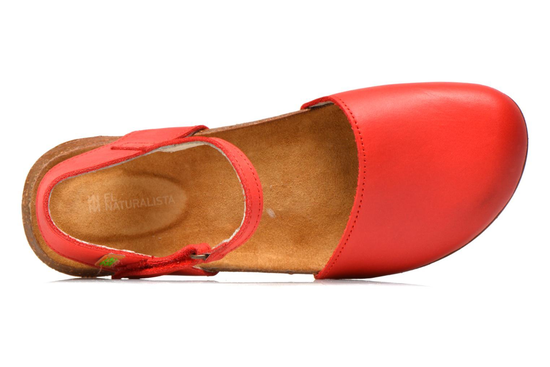 Sandales et nu-pieds El Naturalista Wakataua N412 Rouge vue gauche