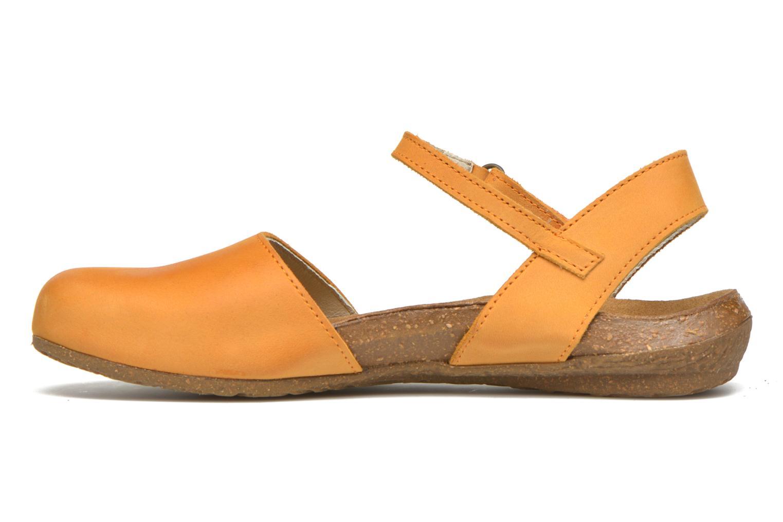 Sandales et nu-pieds El Naturalista Wakataua N412 Orange vue face