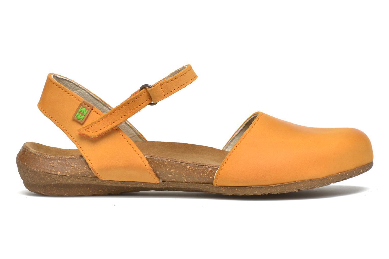 Sandales et nu-pieds El Naturalista Wakataua N412 Orange vue derrière
