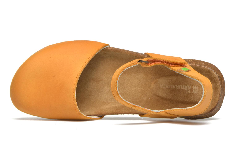 Sandales et nu-pieds El Naturalista Wakataua N412 Orange vue gauche