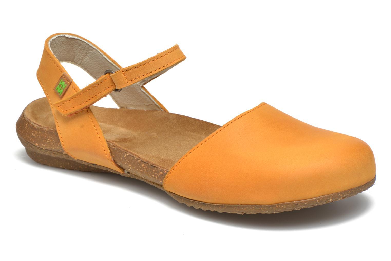 Sandales et nu-pieds El Naturalista Wakataua N412 Orange vue détail/paire