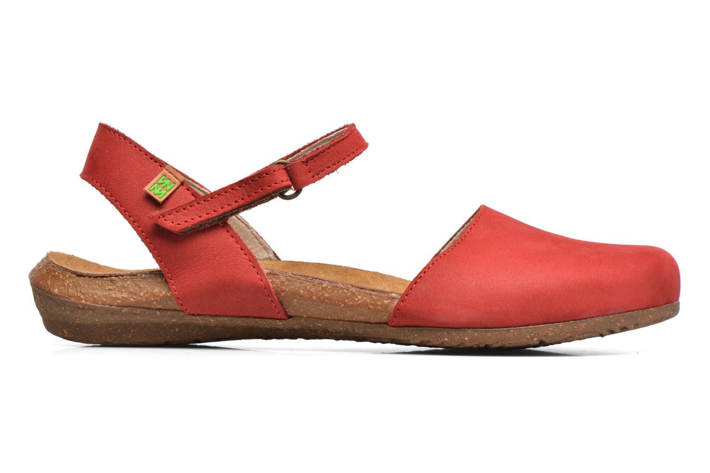 Sandales et nu-pieds El Naturalista Wakataua N412 Rouge vue derrière
