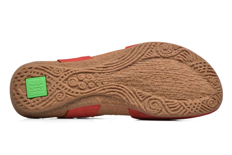 Sandales et nu-pieds El Naturalista Wakataua N412 Rouge vue haut