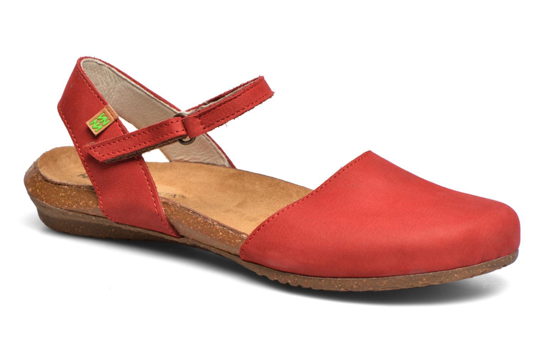Sandales et nu-pieds El Naturalista Wakataua N412 Rouge vue détail/paire