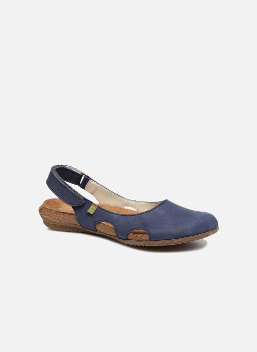 f6ea7ddb5040 Clogs og træsko El Naturalista Wakataua N413 Blå detaljeret billede af  skoene