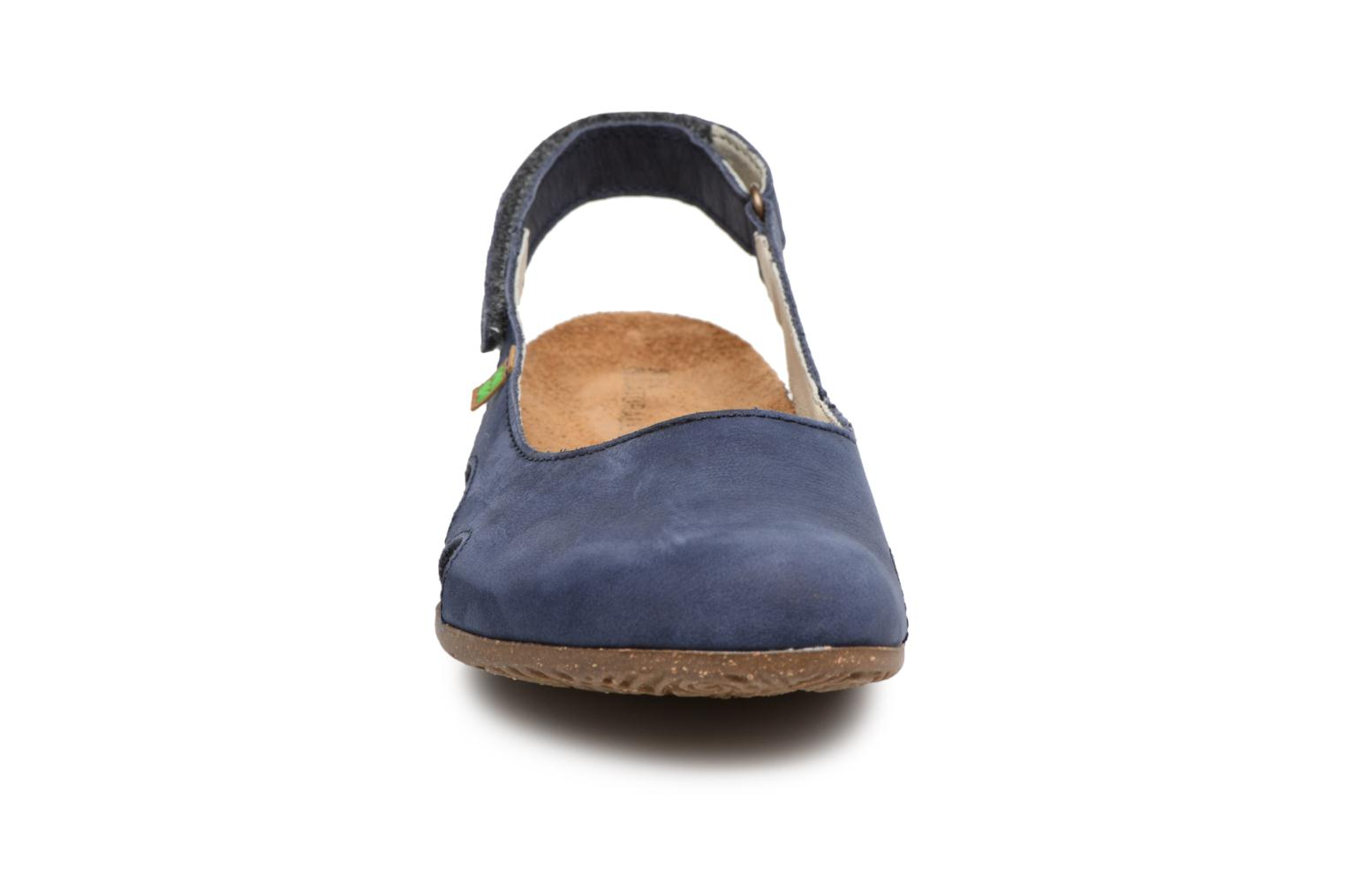 Mules & clogs El Naturalista Wakataua N413 Blue model view