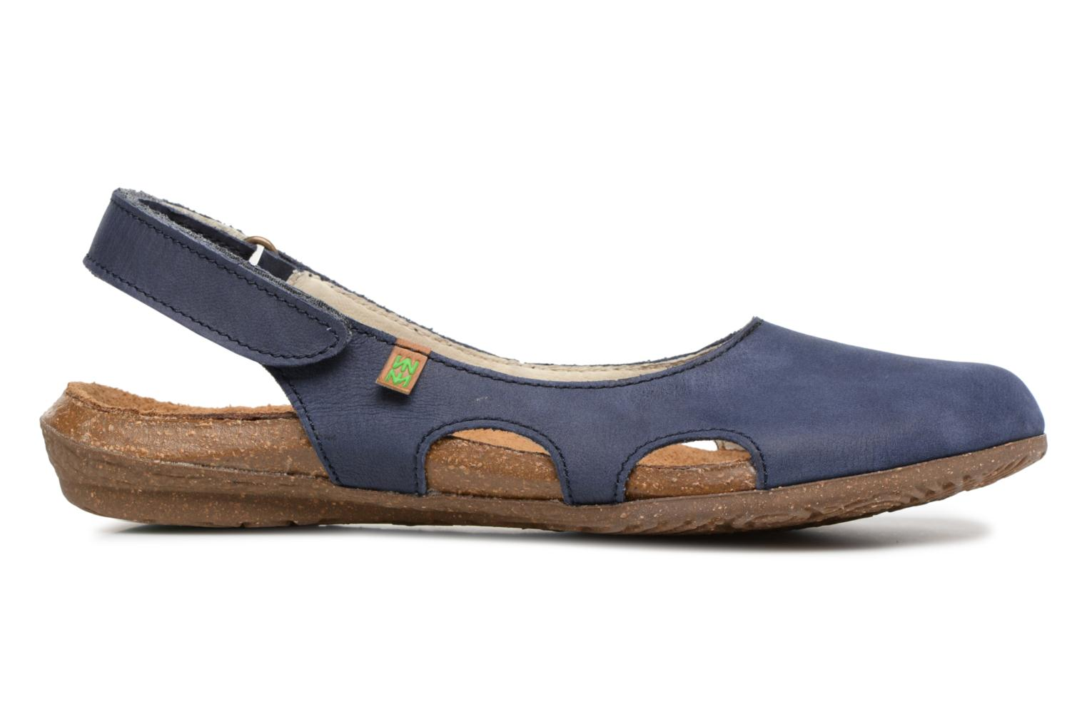 Mules & clogs El Naturalista Wakataua N413 Blue back view