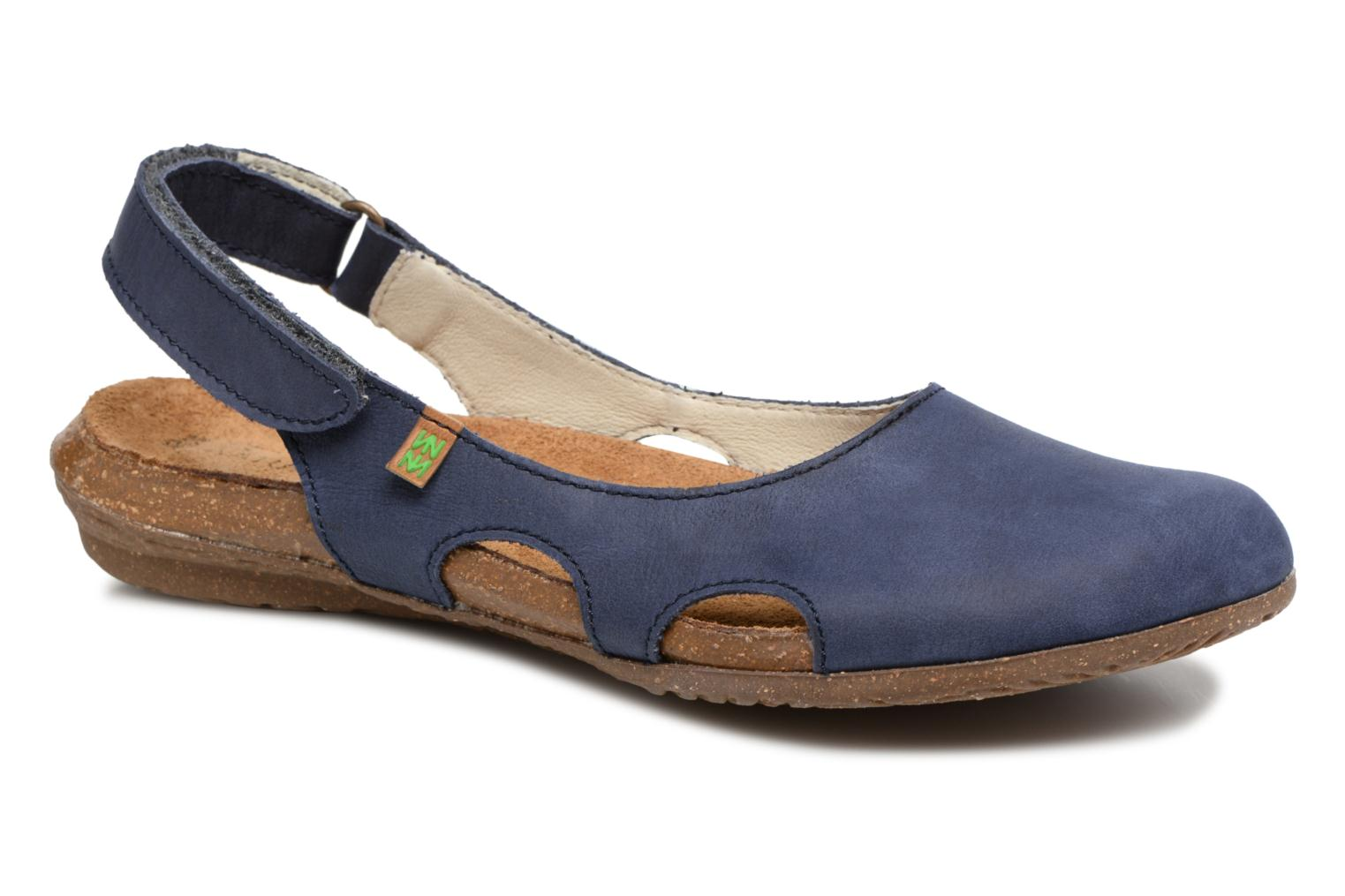 Mules & clogs El Naturalista Wakataua N413 Blue detailed view/ Pair view