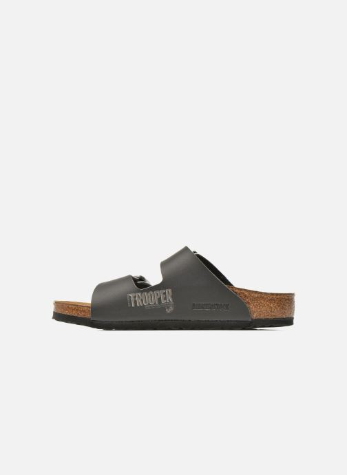 Sandals Birkenstock Arizona Birko-Flor Black front view