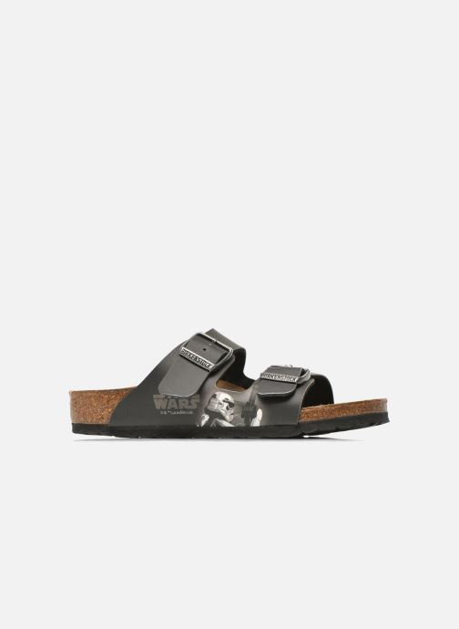 Sandals Birkenstock Arizona Birko-Flor Black back view