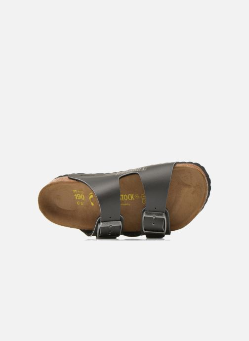 Sandals Birkenstock Arizona Birko-Flor Black view from the left