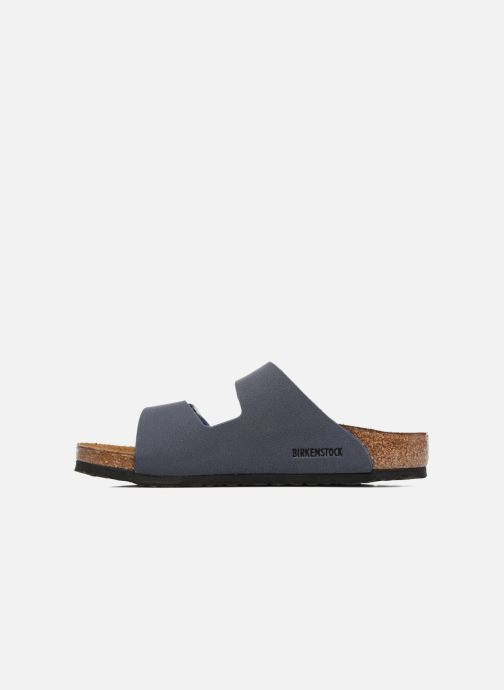 Sandali e scarpe aperte Birkenstock Arizona Birko-Flor Azzurro immagine frontale