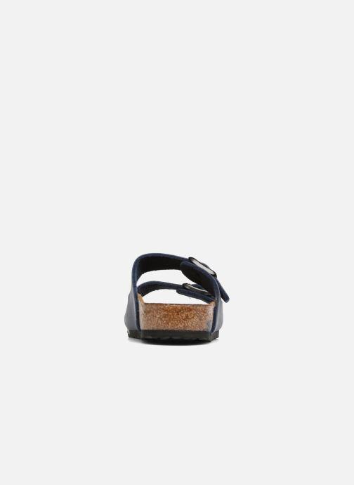 Sandali e scarpe aperte Birkenstock Arizona Birko-Flor Azzurro immagine destra