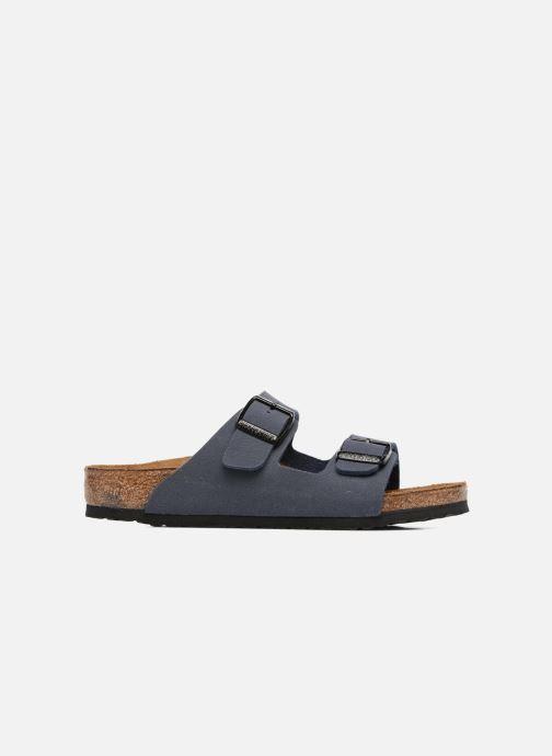 Sandales et nu-pieds Birkenstock Arizona Birko-Flor Bleu vue derrière