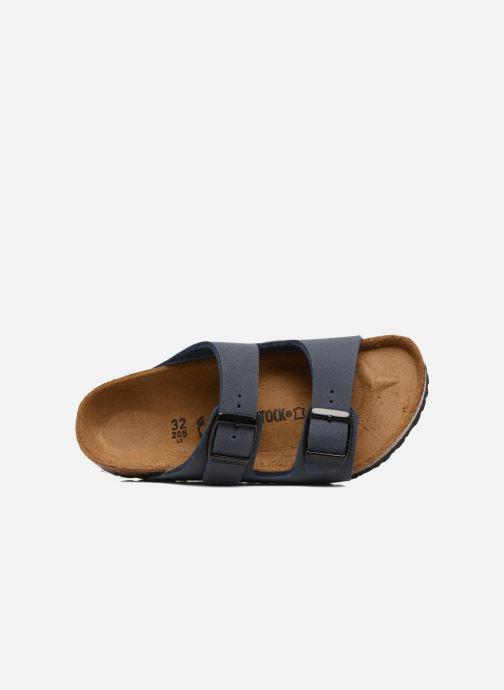 Sandales et nu-pieds Birkenstock Arizona Birko-Flor Bleu vue gauche