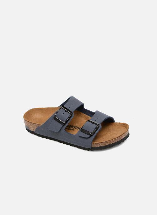 Sandaler Birkenstock Arizona Birko-Flor Blå detaljeret billede af skoene