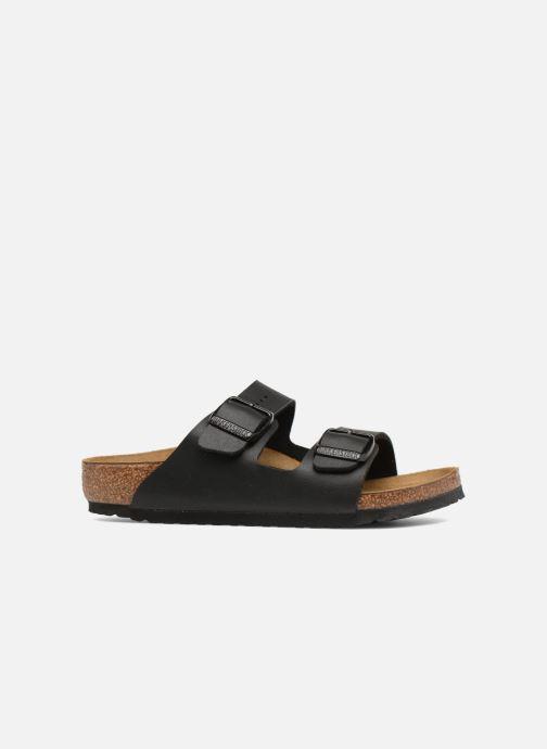 Sandales et nu-pieds Birkenstock Arizona Birko-Flor Noir vue derrière