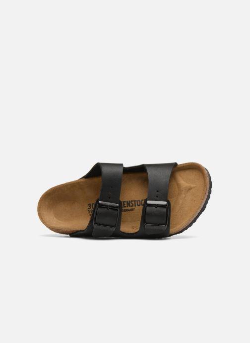 Sandales et nu-pieds Birkenstock Arizona Birko-Flor Noir vue gauche