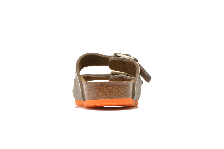 Sandales et nu-pieds Birkenstock Arizona Birko-Flor Gris vue droite