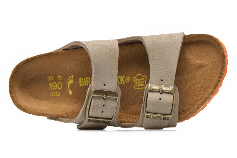 Sandales et nu-pieds Birkenstock Arizona Birko-Flor Gris vue gauche