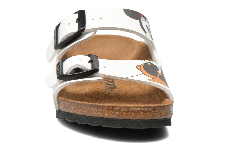 Sandals Birkenstock Arizona Birko-Flor White model view