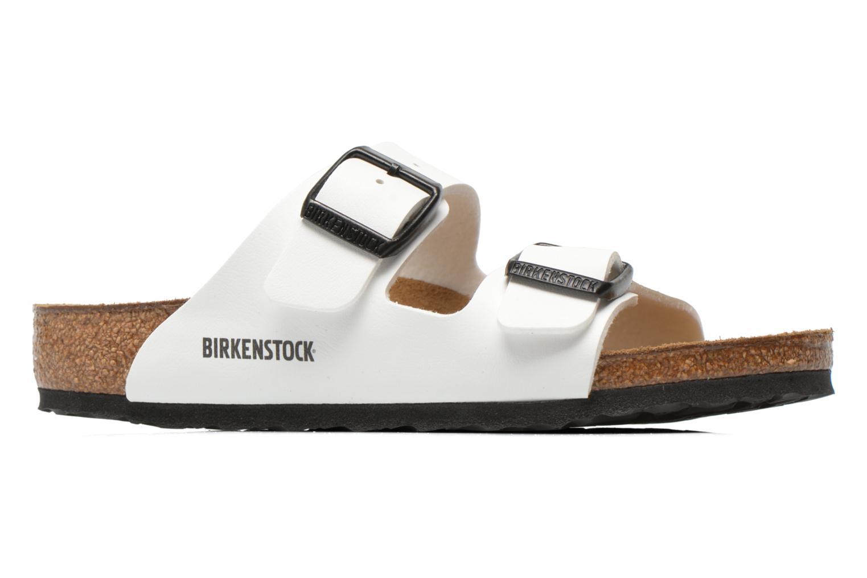 Sandalias Birkenstock Arizona Birko-Flor Blanco vistra trasera