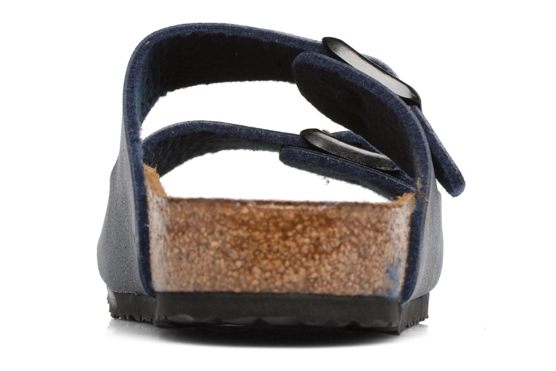 Sandales et nu-pieds Birkenstock Arizona Birko-Flor Bleu vue droite