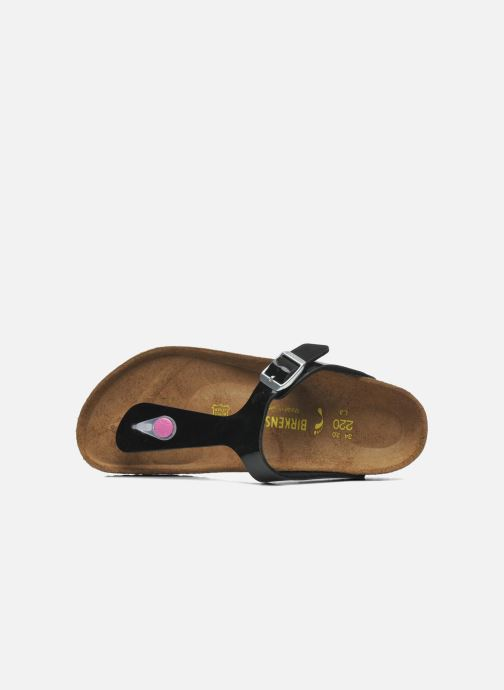 Flip flops Birkenstock GIZEH Black view from the left