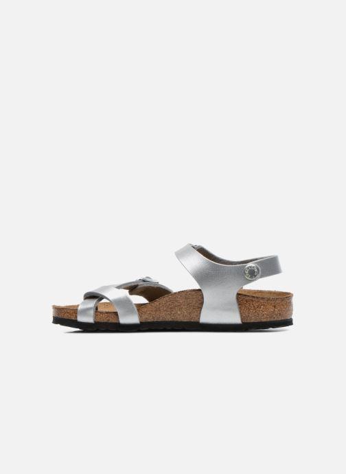 Sandali e scarpe aperte Birkenstock TAORMINA Argento immagine frontale