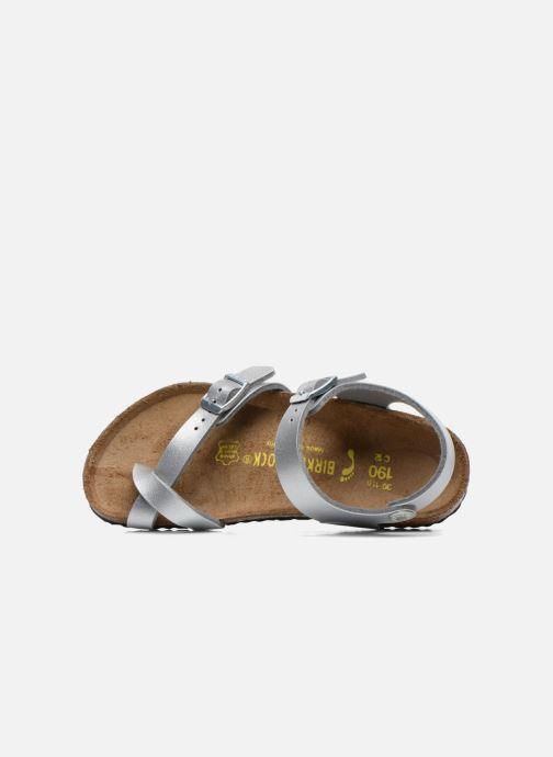 Sandali e scarpe aperte Birkenstock TAORMINA Argento immagine sinistra