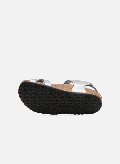 Sandali e scarpe aperte Birkenstock TAORMINA Argento immagine dall'alto