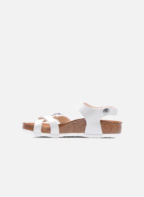 Sandali e scarpe aperte Birkenstock TAORMINA Bianco immagine frontale