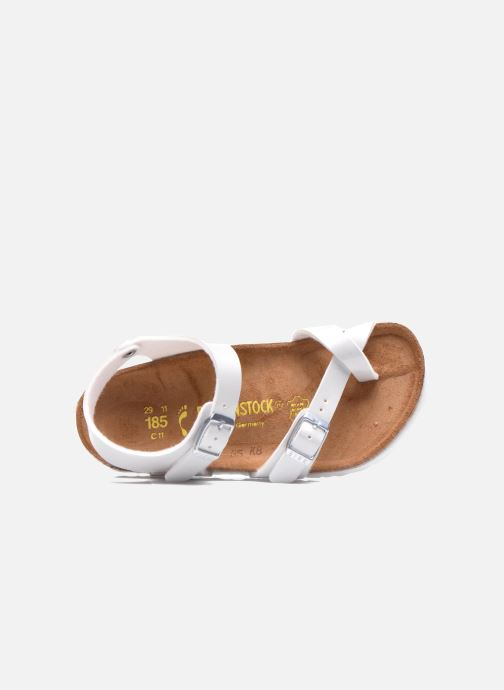 Sandals Birkenstock TAORMINA White view from the left