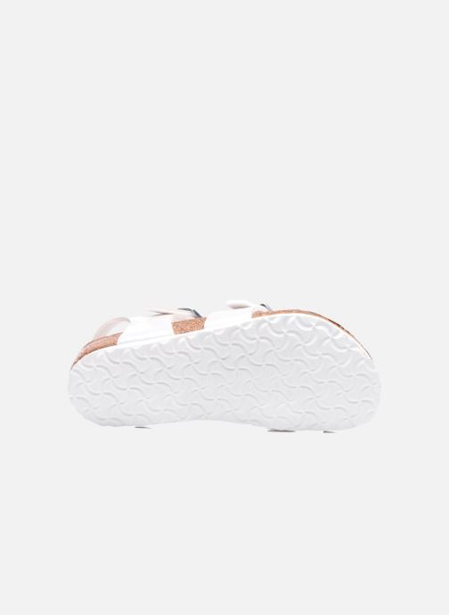 Sandals Birkenstock TAORMINA White view from above