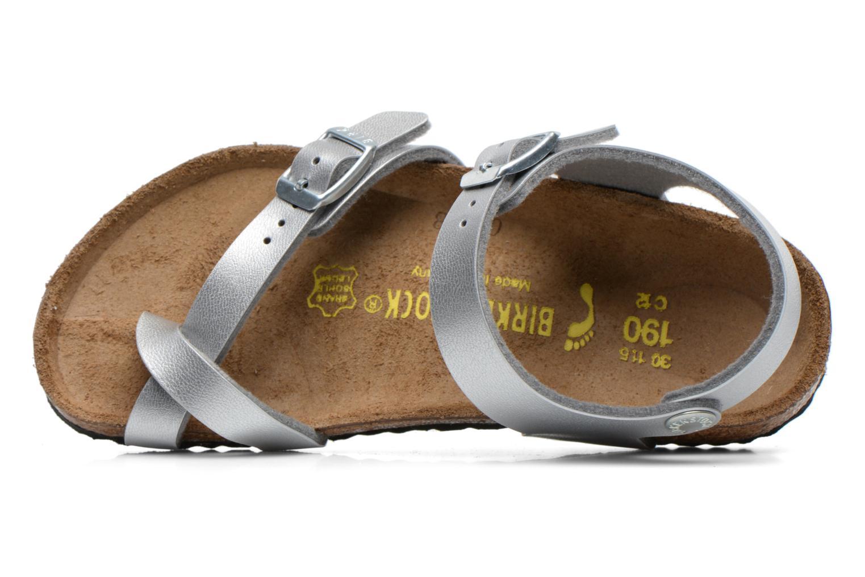 Sandales et nu-pieds Birkenstock TAORMINA Argent vue gauche