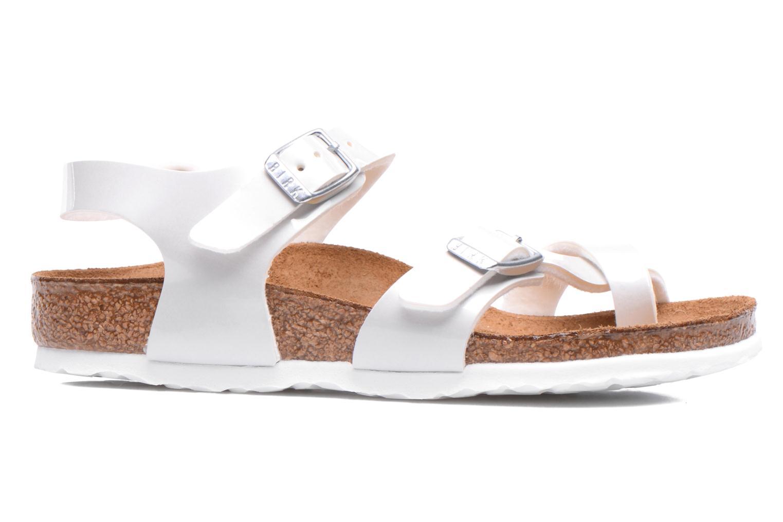 Sandales et nu-pieds Birkenstock TAORMINA Blanc vue derrière