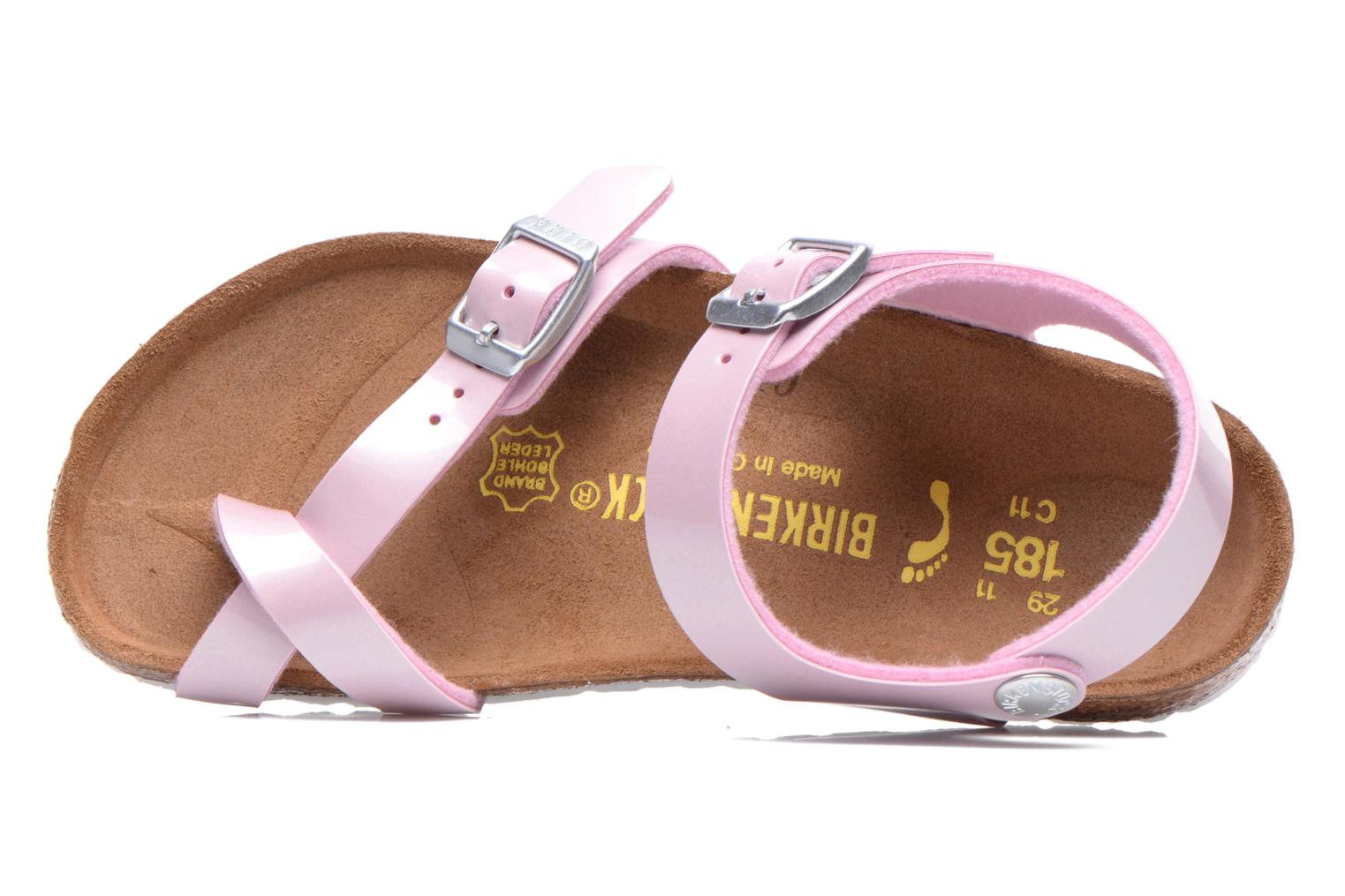 Sandals Birkenstock TAORMINA Pink view from the left