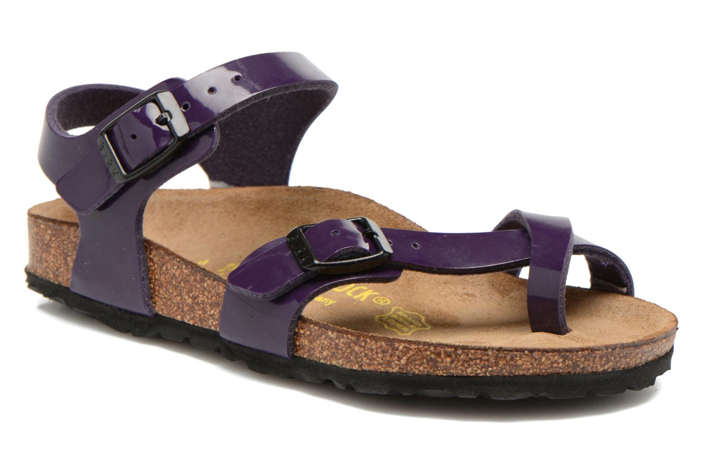 Sandales et nu-pieds Birkenstock TAORMINA Violet vue détail/paire