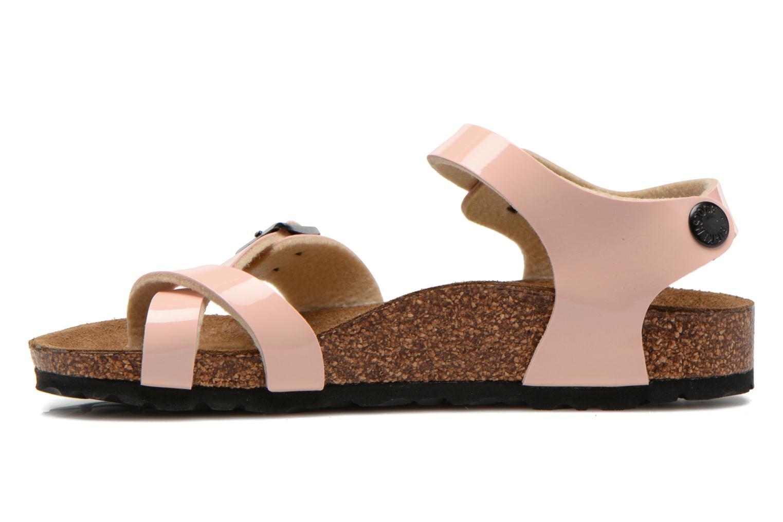 Sandales et nu-pieds Birkenstock TAORMINA Rose vue face