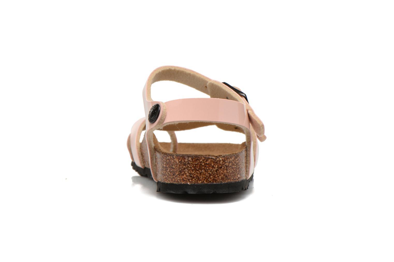 Sandales et nu-pieds Birkenstock TAORMINA Rose vue droite