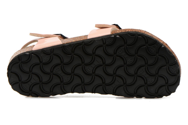 Sandales et nu-pieds Birkenstock TAORMINA Rose vue haut