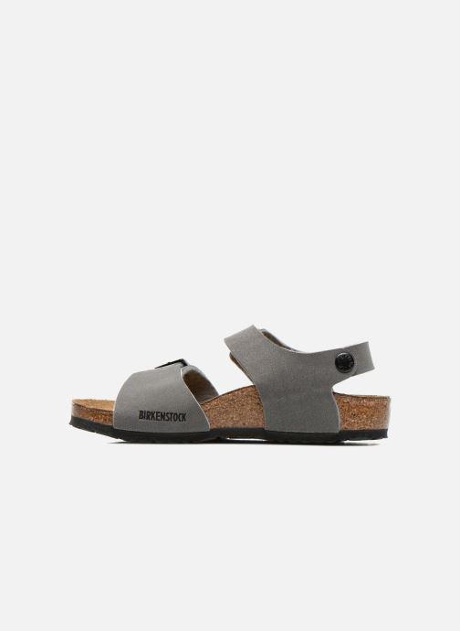 Sandales et nu-pieds Birkenstock NEW YORK Gris vue face
