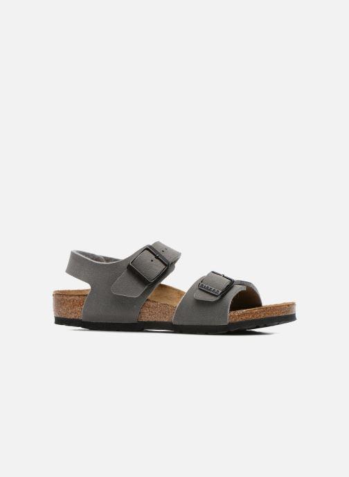 Sandales et nu-pieds Birkenstock NEW YORK Gris vue derrière