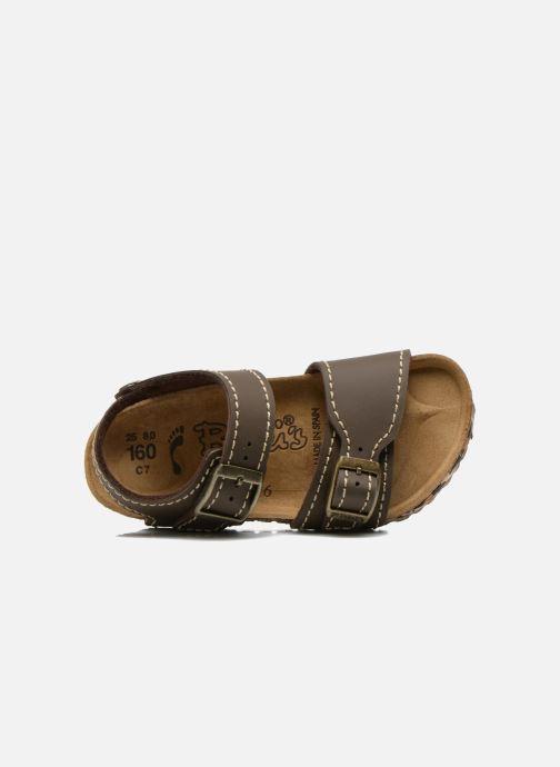 Sandali e scarpe aperte Birkenstock NEW YORK Marrone immagine sinistra