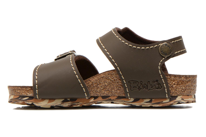 Sandales et nu-pieds Birkenstock NEW YORK Marron vue face