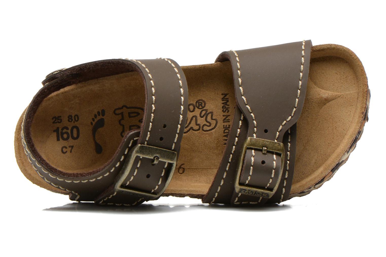 Sandales et nu-pieds Birkenstock NEW YORK Marron vue gauche