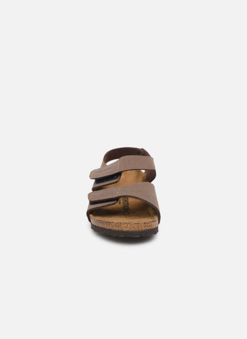 Sandalen Birkenstock PALU braun schuhe getragen