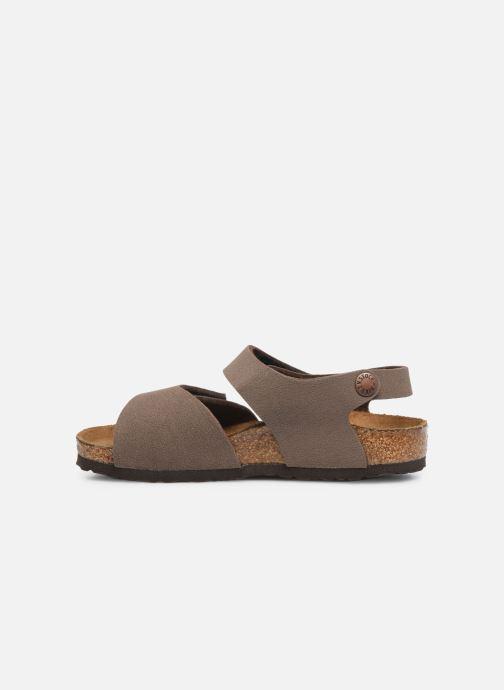 Sandales et nu-pieds Birkenstock PALU Marron vue face