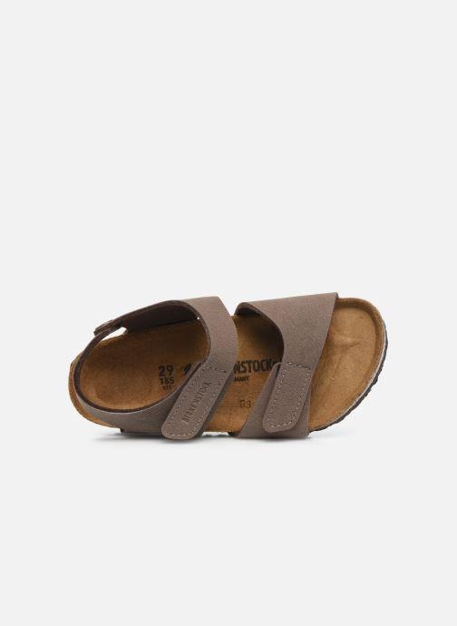 Sandalen Birkenstock PALU braun ansicht von links