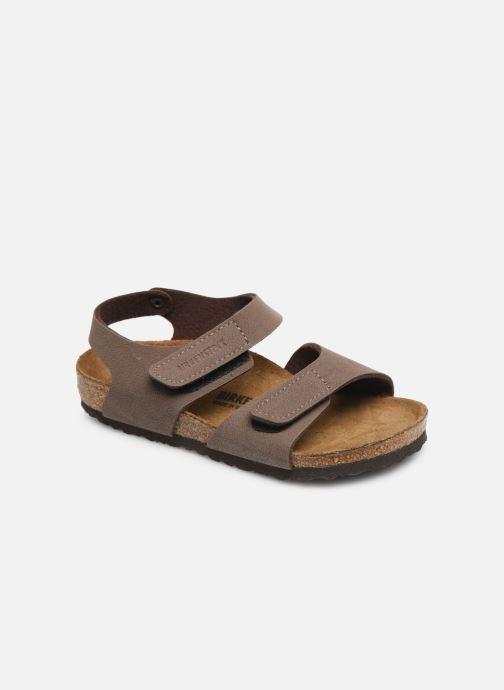 Sandales et nu-pieds Birkenstock PALU Marron vue détail/paire